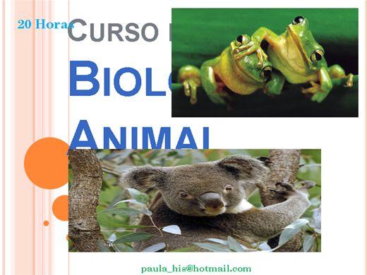 Curso Online de Biologia Animal