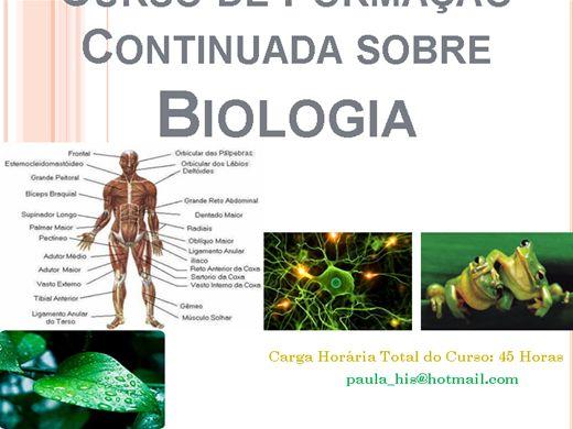 Curso Online de Formação Continuada sobre Biologia