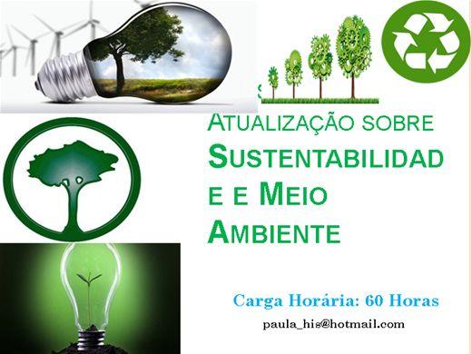 Curso Online de Atualização sobre Sustentabilidade e Meio Ambiente