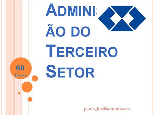 Curso Online de Administração do Terceiro Setor