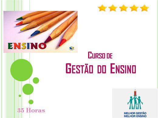 Curso Online de Gestão do Ensino