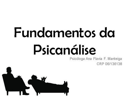 Curso Online de Fundamentos da Psicanálise