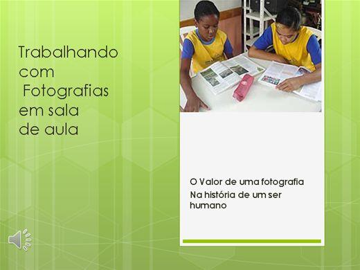 Curso Online de Trabalhando com fotografias em sala de aula