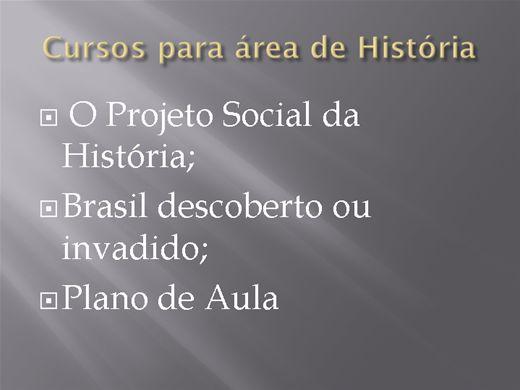 Curso Online de Cursos voltados para área se História