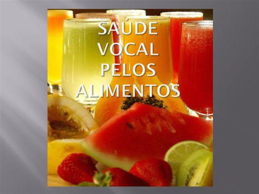 Curso Online de Saúde Vocal pelos Alimentos