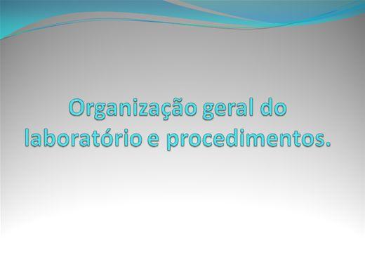 Curso Online de Administração Laboratorial - Parte II, III, IV