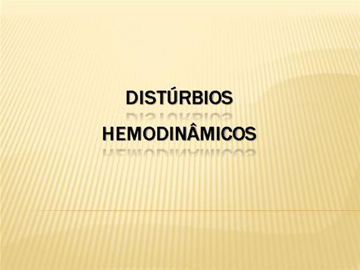 Curso Online de Distúrbios Hemodinâmicos