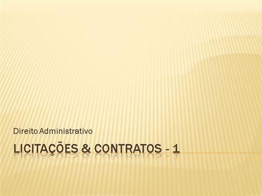 Curso Online de Licitações &Contratos - 1