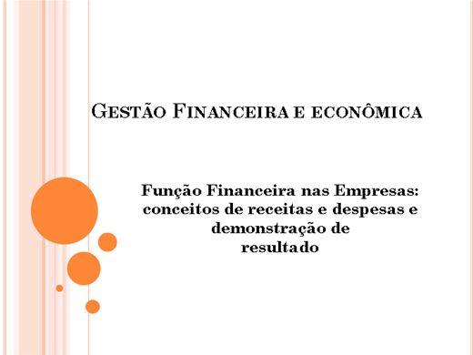 Curso Online de Gestão Financeira e Econômica