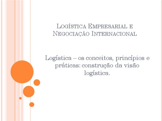 Curso Online de Logística