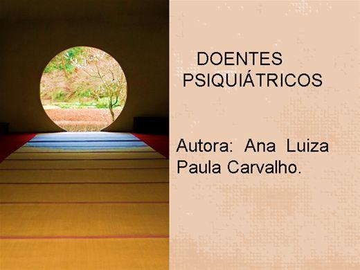 Curso Online de Doentes Psiquiátricos