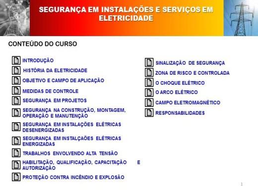 Curso Online de CURSO BÁSICO DE ELETRICIDADE (NR10)