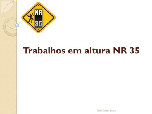 Curso Online de NR35