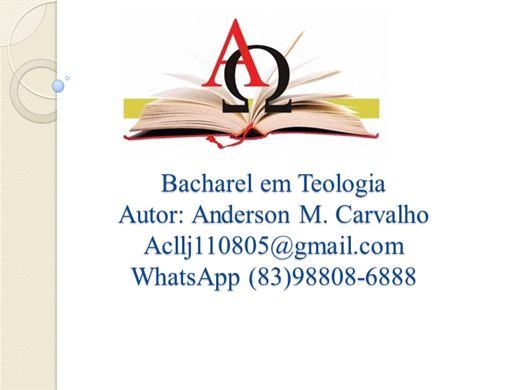 Curso Online de Bacharel em Teologia