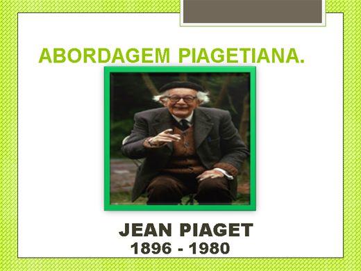 Curso Online de ABORDAGEM PIAGETIANA.