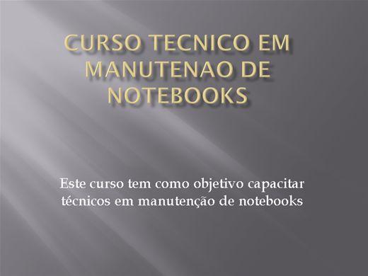 Curso Online de Tecnico em manutençao de notebook
