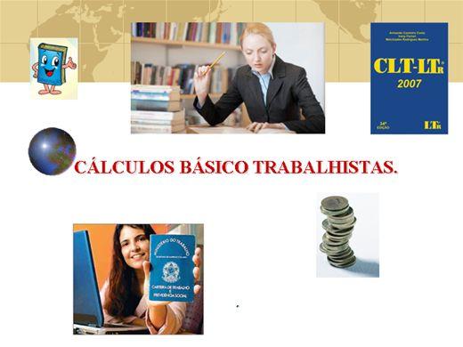 Curso Online de Calculos Trabalhistas