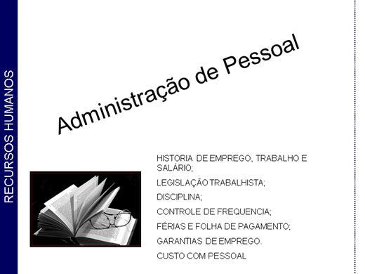 Curso Online de Administração de Pessoal (DP)