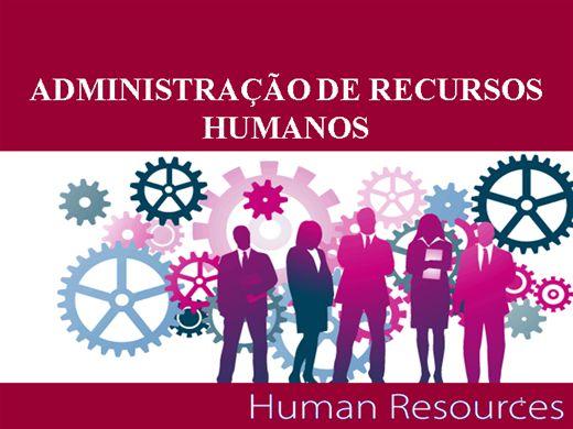 Curso Online de ADMINISTRAÇÃO DE RECURSOS HUMANOS