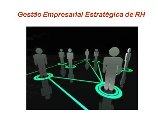 Curso Online de Gestão Empresarial Estratégica de RH