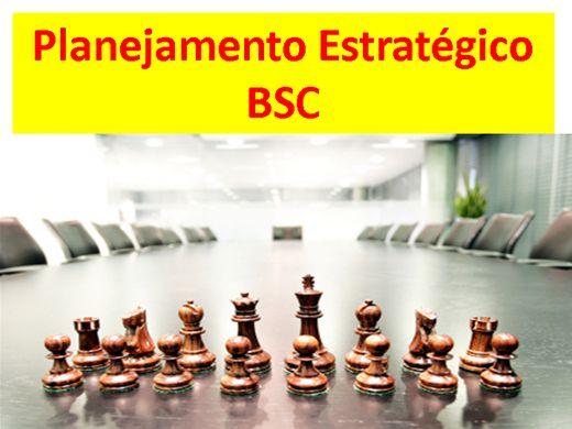 Curso Online de PLANEJAMENTO ESTRATÉGICO - BSC