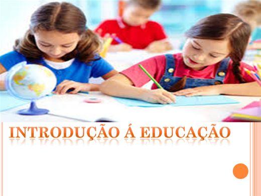 Curso Online de Introdução a Educação e  Ensino