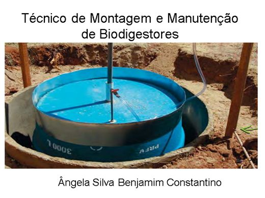 Curso Online de Técnico de Montagem e Manutenção de Biodigestores