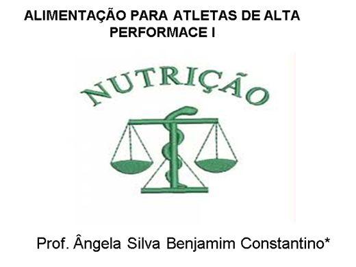 Curso Online de ALIMENTAÇÃO PARA ATLETAS DE ALTA PERFORMACE I