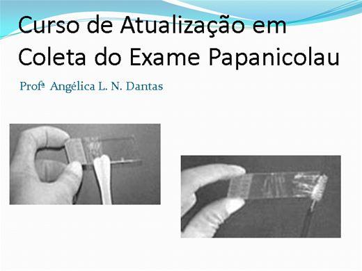 Curso Online de Atualização em Coleta do Exame Papanicolau