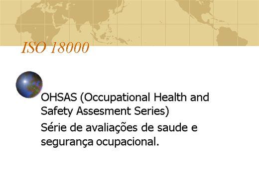 Curso Online de Tudo Sobre ISO 18000