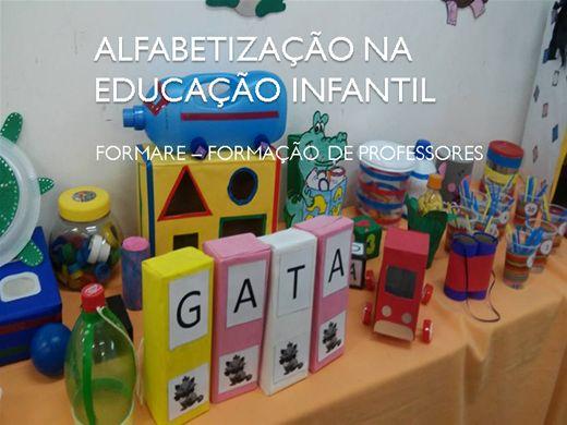Curso Online de EDUCAÇÃO INFANTIL E ALFABETIZAÇÃO