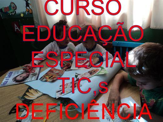 Curso Online de CURSO EDUCAÇÃO ESPECIAL DEFICIÊNCIA FISICA