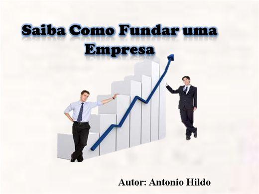 Curso Online de Saiba Como Fundar uma Empresa