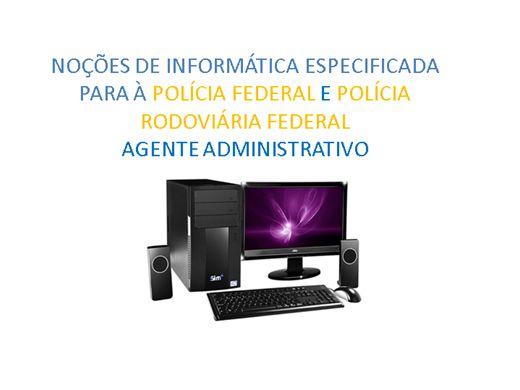 Curso Online de Informática (Especificada para a Polícia Federal e Rodoviária Federal)