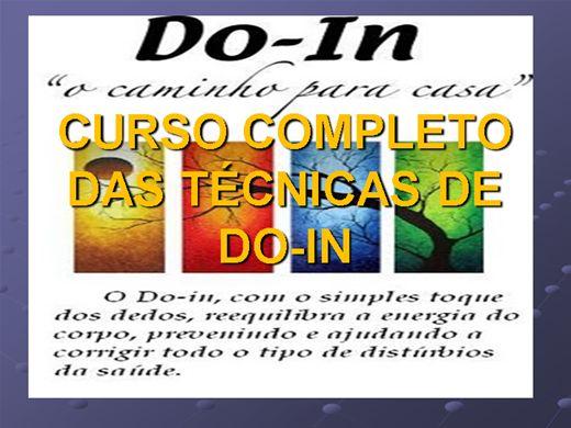 Curso Online de CURSO COMPLETO DE DO-IN