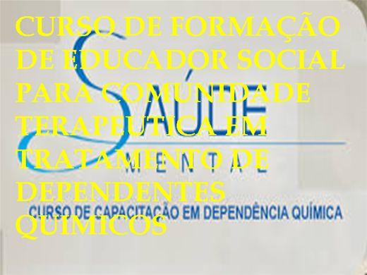 Curso Online de CURSO DE CAPACITAÇÃO EM DEPENDÊNCIA QUÍMICA