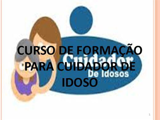 Curso Online de CURSO DE CAPACITAÇÃO PARA CUIDADOR DE IDOSO