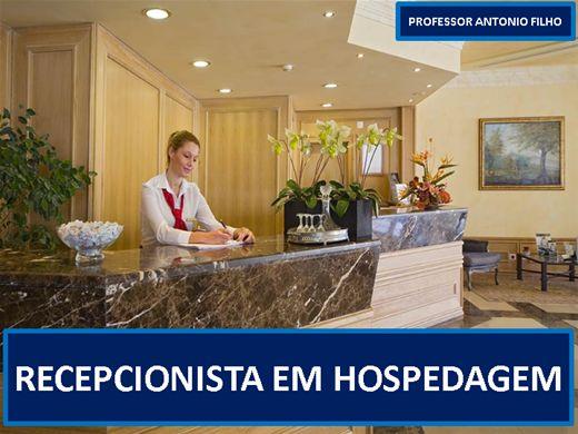 Curso Online de RECEPCIONISTA EM MEIOS DE HOSPEDAGEM