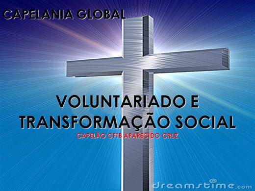 Curso Online de CAPELANIA GLOBAL , VOLUNTARIADO E TRANSFORMAÇÃO SOCIAL