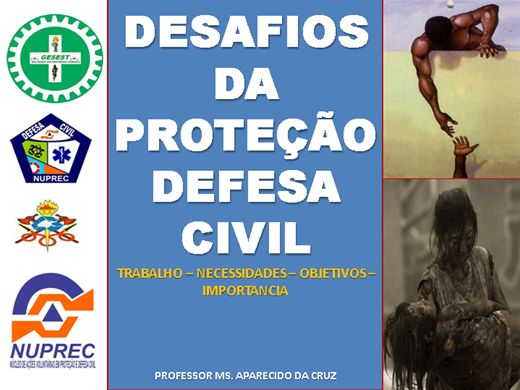 Curso Online de Curso Formativo Desafios da Defesa Civil no Brasil