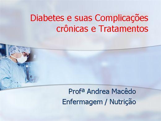 Curso Online de Complicações crônicas do diabetes