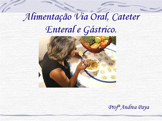 Curso Online de Alimentação Oral, Enteral e Gástrica