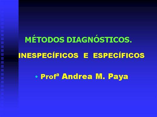 Curso Online de Métodos Diagnósticos