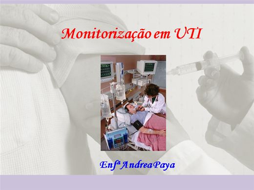 Curso Online de Monitorização em UTI
