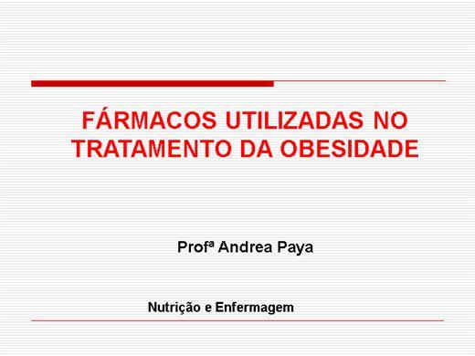 Curso Online de FÁRMACOS UTILIZADAS NO TRATAMENTO DA OBESIDADE