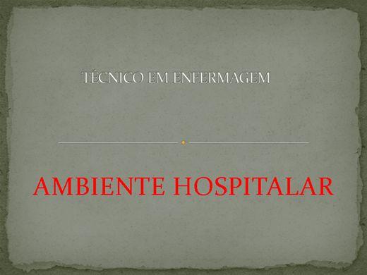 Curso Online de AMBIENTE HOSPITALAR