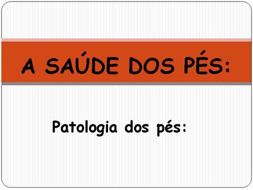 Curso Online de A SAÚDE DOS PÉS: