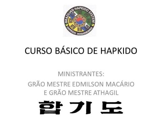 Curso Online de CURSO DE INICIAÇÃO AO HAPKIDO