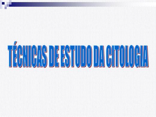 Curso Online de Técnicas citológicas