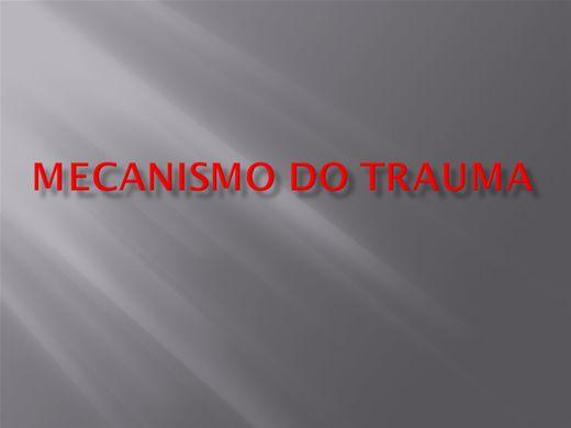 Curso Online de MECANISMOS DE TRAUMA